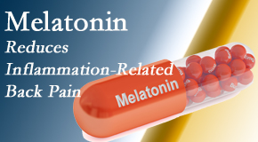 Spine & Sports Rehab Center shares new findings that melatonin interrupts the inflammatory process in disc degeneration that causes back pain.