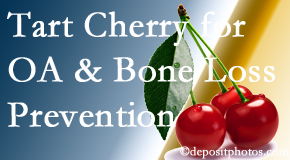 Spine & Sports Rehab Center shares that tart cherries may improve bone health and prevent osteoarthritis.