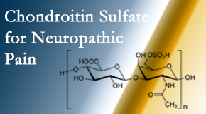 Spine & Sports Rehab Center finds chondroitin sulfate to be an effective addition to the relieving care of sciatic nerve related neuropathic pain.