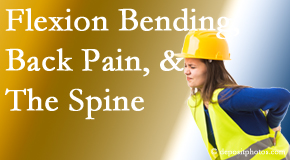 Spine & Sports Rehab Center helps workers with their low back pain because of forward bending, lifting and twisting.