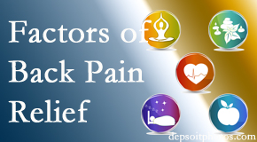 A few Baton Rouge  back pain relief factors Spine & Sports Rehab Center evaluates are exercise, balance, and movement.