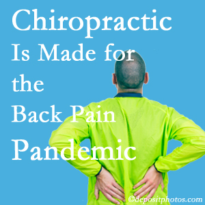 Baton Rouge  chiropractic care at Spine & Sports Rehab Center is well-equipped for the pandemic of low back pain.