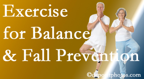 Baton Rouge  chiropractic care of balance for fall prevention involves stabilizing and proprioceptive exercise.