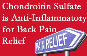 Baton Rouge  chiropractic treatment plan at Spine & Sports Rehab Center may well include chondroitin sulfate!