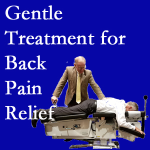 Baton Rouge  back pain and disc degeneration find relief at Spine & Sports Rehab Center with spinal disc pressure reducing Baton Rouge  spinal manipulation.