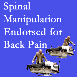 Baton Rouge  chiropractic care includes spinal manipulation, an effective,  non-invasive, non-drug approach to low back pain relief.