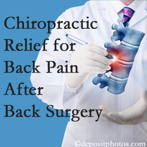 Spine & Sports Rehab Center offers back pain relief to patients who have already undergone back surgery and still have pain.