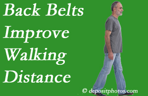 Spine & Sports Rehab Center sees value in recommending back belts to back pain sufferers.