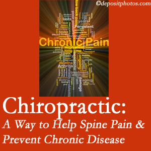 Spine & Sports Rehab Center helps ease musculoskeletal pain which helps prevent chronic disease.
